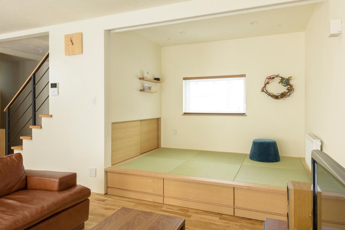 3畳小上がり和室