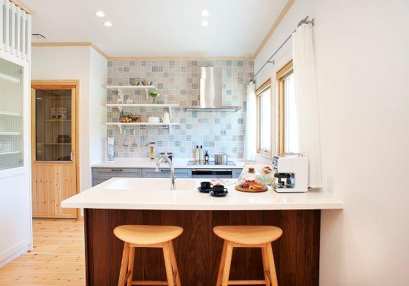 スウェーデンハウス キッチン