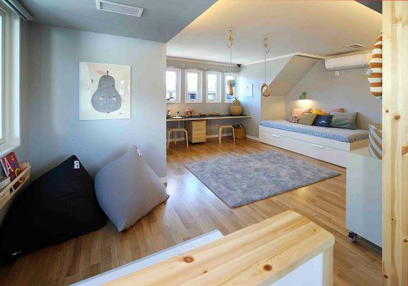 スウェーデンハウス 子供部屋