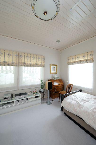 スウェーデンハウス 寝室