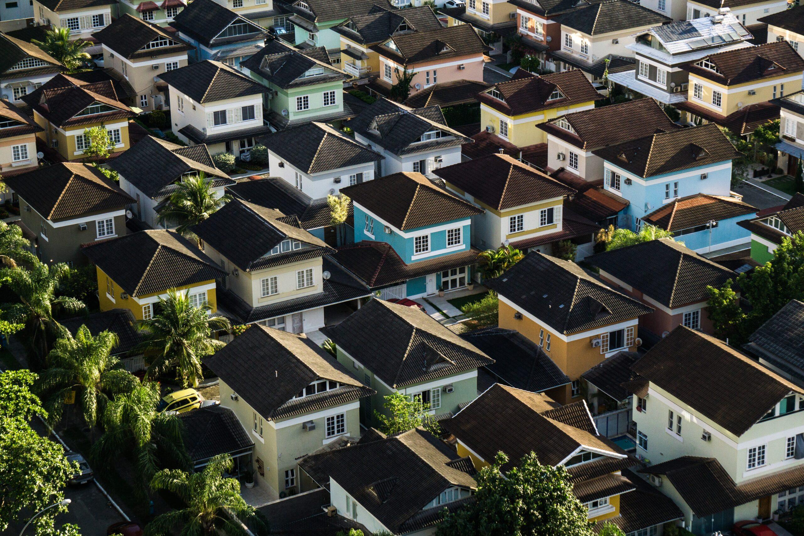 様々な種類の家